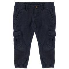 Pantaloni lungi copii, Chicco, albastru, 104