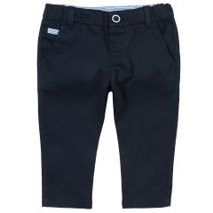 Pantaloni lungi copii Chicco, albastru inchis, 98