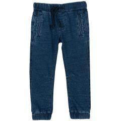 Pantalon lung Chicco, albastru deschis, 98
