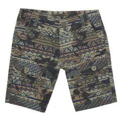 Pantaloni scurti Chicco, baieti, kaki si nuante de maro, 92