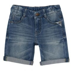 Pantaloni scurti copii, Chicco, albastru denim, 92