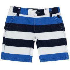 Pantaloni scurti baieti Chicco, bleumarin dungi, 104