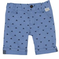 Pantaloni scurti copii Chicco, albastru deschis, 128