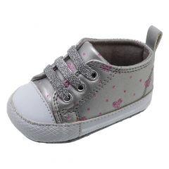 Pantof copii Chicco Neldina, gri silver, 16
