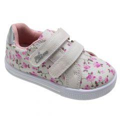 Pantof sport fetite Chicco Flavia, alb cu imprimeu floral, 24
