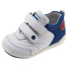 Pantof sport Chicco, albastru si rosu, 18
