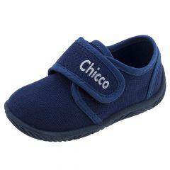 Pantofi de casa copii Chicco Tailor, bleumarin, Casa, 59781