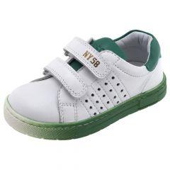 Pantofi sport copii Chicco,100% piele naturala, alb, 30