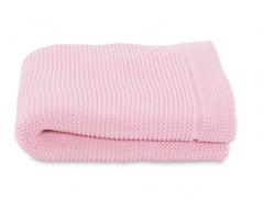 Paturica tricot pentru patuturi Chicco, Miss Pink, 0luni+