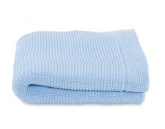 Paturica tricot pentru patuturi Chicco, Ocean, 0luni+