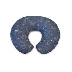 Perna alaptare Chicco Boppy 4 in 1, Denim Animals