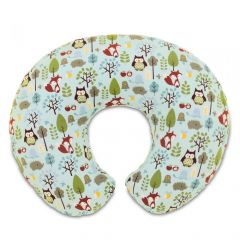 Perna alaptare Chicco Boppy 4 in 1, Woodsie