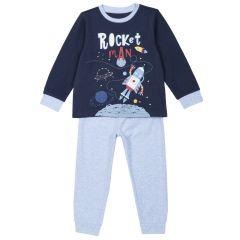 Pijamale copii Chicco, albastru, 128