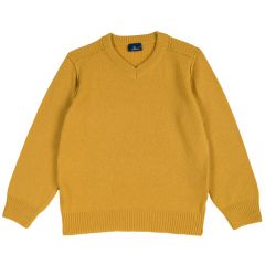 Pulover copii Chicco, galben, 128
