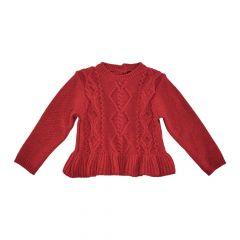 Pulover copii Chicco, rosu, 80