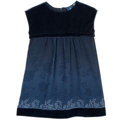 Rochie copii Chicco, albastru inchis, 104