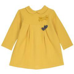 Rochie copii Chicco, galben deschis, 104