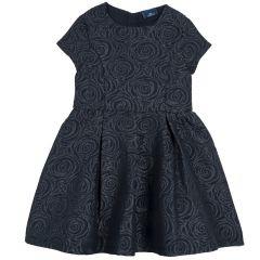 Rochie copii Chicco, albastru inchis, 122
