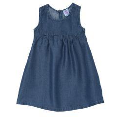 Rochie copii Chicco, fara maneci, albastru, 122