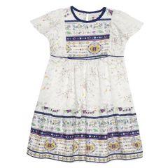 Rochie fetite Chicco, maneca scurta, multicolor, 110
