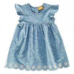 Rochita copii Chicco, maneca scurta, albastru deschis, 98