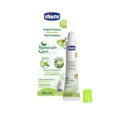Roll-on Chicco Natural Care pentru calmarea ciupiturilor de insecte si meduze, 10ml, 0luni+