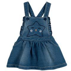 Salopeta copii Chicco, albastru deschis, 80