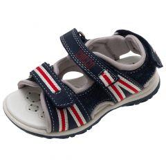 Sandale copii Chicco Carrot, bleumarin cu model, 22