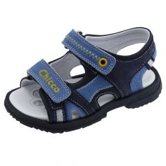 Sandale copii Chicco Cipro, piele naturala, bleumarin, 59553