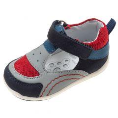 Sandale fetite Chicco G36, piele naturala gri, 18
