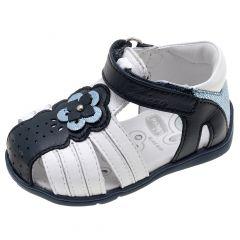 Sandale fetite Chicco Guenda, piele bleumarin, 23