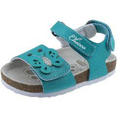 Sandale copii Chicco, alb cu verde, 28