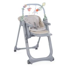 Scaun de masa Chicco Polly Magic Relax, Beige, 0luni+