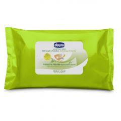 Servetele umede protectie naturala impotriva tantarilor Chicco, 20buc, 6luni+