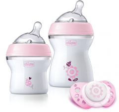 Set nou-nascut Chicco Girl Natural Feeling, 0 luni+