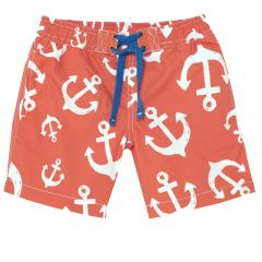 Pantaloni scurti baie Chicco, baieti, portocaliu, 116