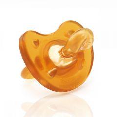 Suzeta Chicco cauciuc monobloc Physio Soft, forma ortodontica, 12luni+