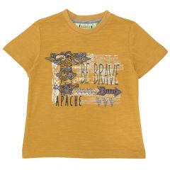Tricou baieti Chicco, maneca scurta, galben, 116