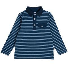 Tricou copii Chicco, albastru, 122