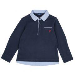 Tricou copii Chicco, albastru, 98