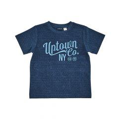 Tricou copii Chicco, albastru cu model, 122