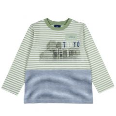 Tricou copii Chicco, multicolor, 98