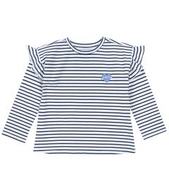 Bluza copii chicco, maneca lunga, bleumarin, 110