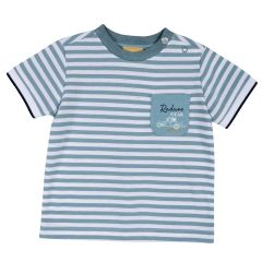 Tricou copii Chicco, maneca scurta, bleu deschis, 92