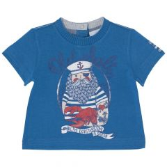 Tricou pentru copii, Chicco, baieti, albastru, 56