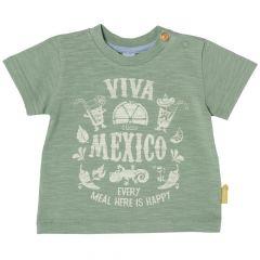 Tricou pentru baieti, Chicco, maneca scurta, verde, 56