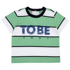 Tricou pentru copii, Chicco, maneca scurta, verde, 86