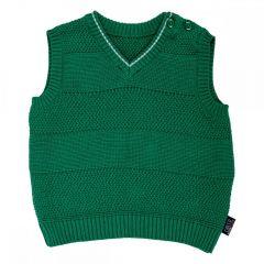 Vesta tricotata copii Chicco, baieti, verde, 92