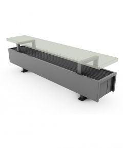 Calorifere Mini Freestanding 280x600x130 mm, 653 W