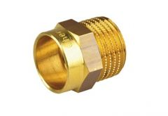 Adaptor cupru 22 mm x 1`` filet exterior